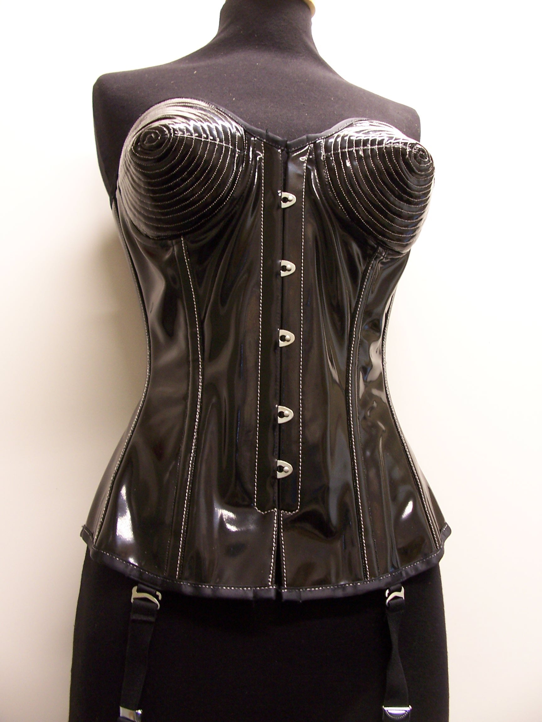 PVC corset by Vollers