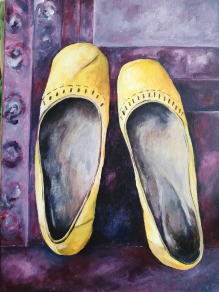 'Yellow Shoes' by Sarah Sumner